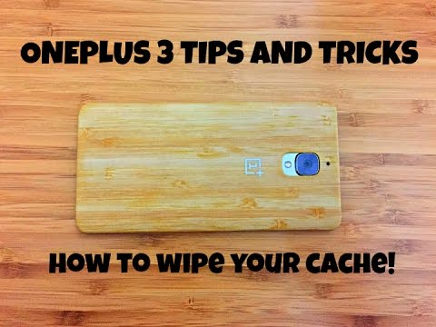 OnePlus 3 Tips and Tricks - How to wipe your cache!
