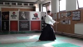 zengo no ido renzoku uchikomi [TUTORIAL] Aikido advanced weapon technique