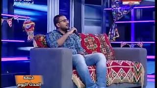 المنشد محمود عبد المجيد ينشد مولاي للنقشبندي والفنان سامح صفوت يطالبه بإعادة ترديدها مرة أخرى