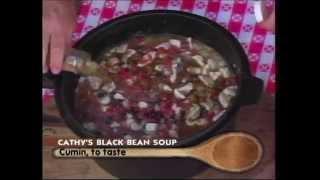 Cathy's Dutch Oven Black Bean Soup | Cee Dub