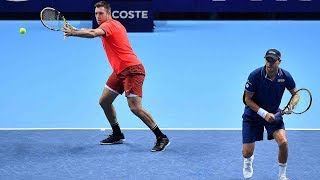 Highlights: Bryan/Sock Overcome Murray/Soares At The 2018 Nitto ATP Finals