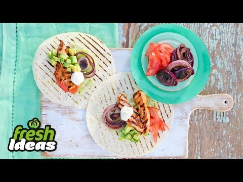 Recipe: Easy Mexican Grilled Chicken Tostadas