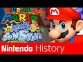 History of 3D Mario - Super Mario 64 and Sunshine I Nintendo History
