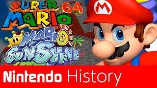 History of 3D Mario - Super Mario 64 and Sunshine I Nintendo History