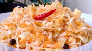 Квашеная Капуста (хрустящая и сочная) Очень простой рецепт | Sauerkraut Recipe