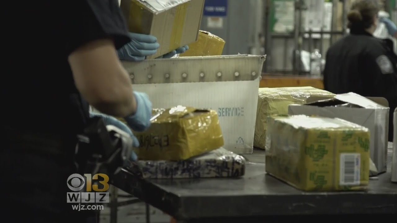 The flow of fentanyl: In the mail, over the border