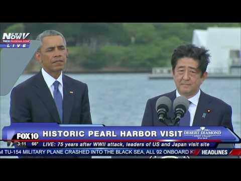 HISTORIC: President Obama & Japan Prime Minister Abe SPEECHES at Pearl Harbor - FULL VIDEO