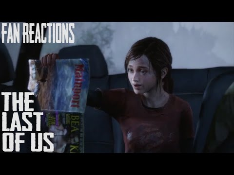 Fan Reactions: The Last Of Us - Ellie & The Dirty Magazine (Car Scene)