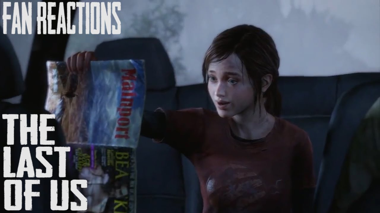 Fan Reactions: The Last Of Us - Ellie & The Dirty Magazine (Car ...