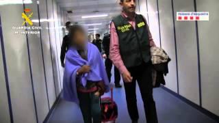 Lliberación y llegada de la niña secuestrada en Bolivia.