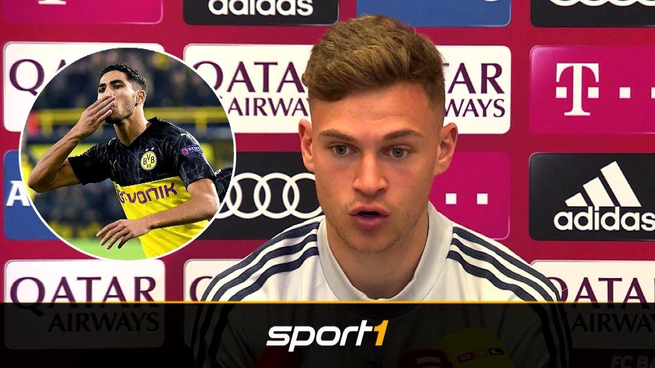 Hakimi zu Bayern? Das sagt Kimmich | SPORT1