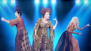 Hocus Pocus Reunion: Watch the Sanderson Sisters SING Together!