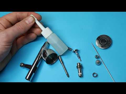 Stripping down your airbrush (Iwata CR Plus)