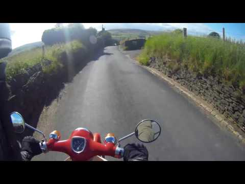 Honda Cub C50 with Lifan 110 finally running sweet!