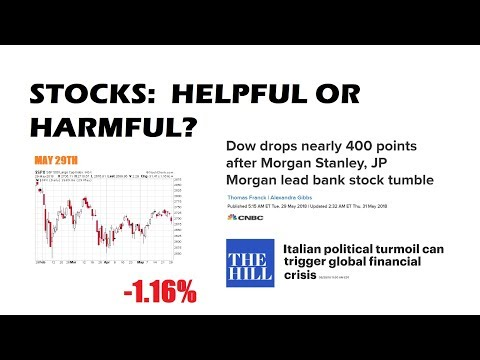 Stocks:  Red Screens And Scary Headlines