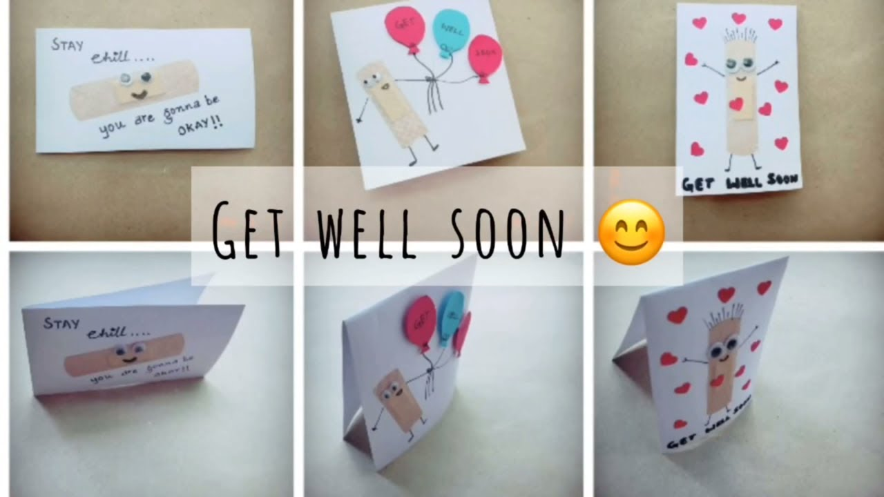 get well soon card - 1 | craft for kids | easy diy cards for kids