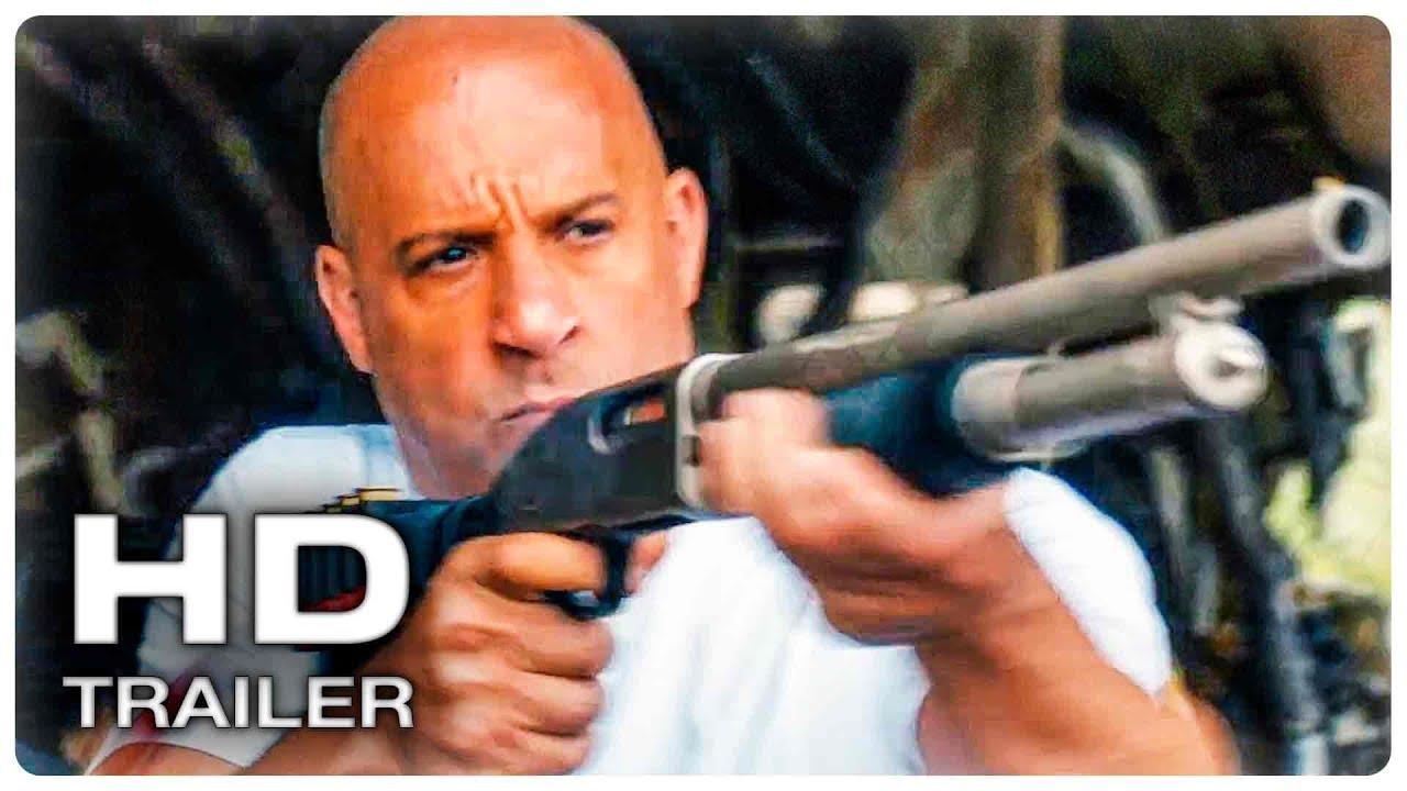 ФОРСАЖ 9 Русский Трейлер #1 (2020) Вин Дизель Action Movie HD