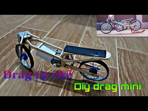 Xe đua drag mini tự chế