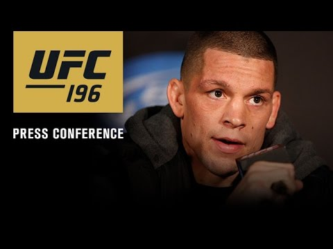 UFC 196: Post-fight Press Conference