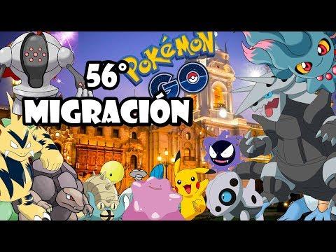 ¡56° MIGRACIÓN DE HOEN! LOS MEJORES NIDOS DE LIMA - PERÚ! | Pokemon GO thumbnail