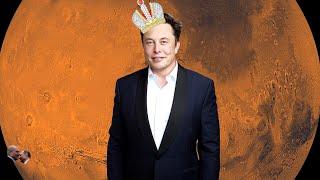 Маск создае т мировое правительство на Марсе