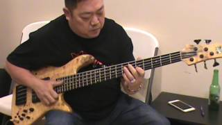 Slap đàn bass guitar cực hay