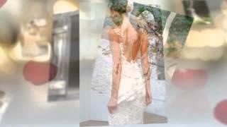 Свадебные платья с открытой спиной