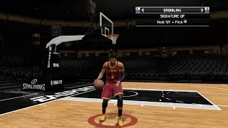 NBA Live 14 PS4 - Like/Dislikes Pt. 1 Dribbling & Player Movement (Shootaround Mode)