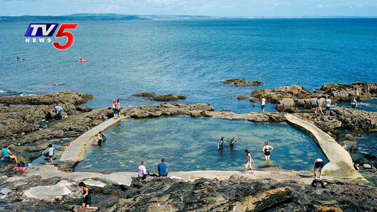 Sea Water Pools First In India At Vizag Tv5 News Youtube