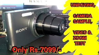 Sony Cybershot DSC-W830 Digital Camera unboxing & Honest Review Indian Vlogger Swarnali
