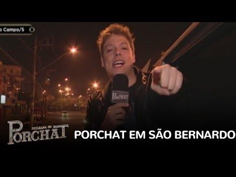 Porchat faz surpresa e invade a casa dos moradores de São Bernardo do Campo