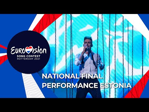 Uku Suviste - The Lucky One - Estonia 🇪🇪 - National Final Performance - Eurovision 2021