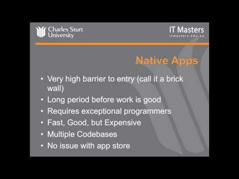 Lecture 1: Free Short Course - Cross-Platform Mobile App Development