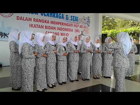 Hymne IBI Dan MARS IBi #Juara1 Paduan Suara  HUT IBI KE66 Kab.Wajo | Ranting RSUD Lamaddukkelleng