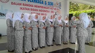 Hymne Ibi Dan Mars Ibi Juara1 Paduan Suara Hut Ibi Ke66 Kab Wajo Ranting Rsud Lamaddukkelleng