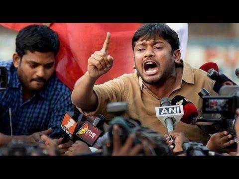 Kanhaiya fiery Full speech, Hyderabad seminar,  Universities under attack, JNU leader 24 March