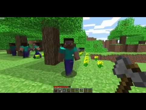Minecraft Indev - Human Mobs
