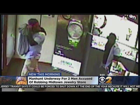 Midtown Jewelry Store Robbery