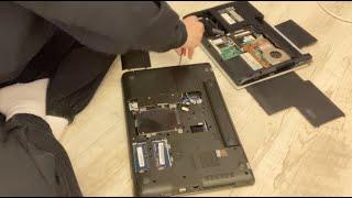 노트북 셀프 램 설치, 디드라이브만들기(멀티부스트이용)