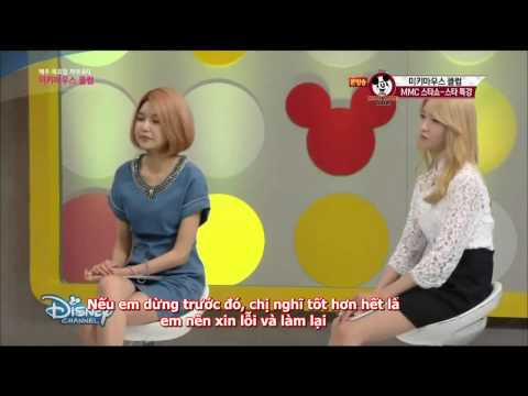 [VIETSUB] Mickey Mouse Club with Yoona&Sooyoung