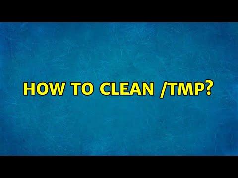 Ubuntu: How to clean tmp? (7 Solutions!)