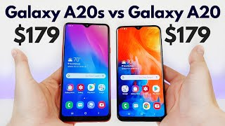 Samsung Galaxy A20s vs Samsung Galaxy A20 - Who Will Win?