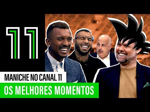 Maniche no Canal 11: os melhores momentos!