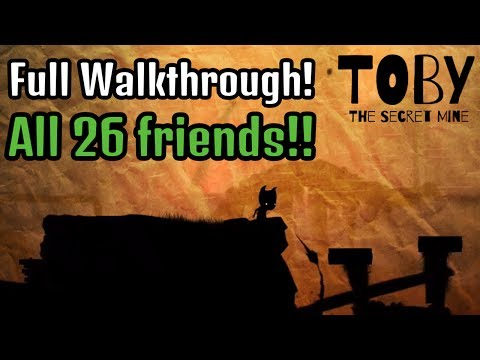 Toby: The Secret Mine Full Walkthrough with ALL 26 Friends (Xbox One, PS4, PC)