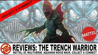Toy Shiz REVIEWS: Mattel DC Multiverse: The Trench Warrior CnC Figure!