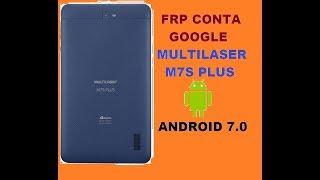 TUTORIAL: Como Remover a conta Google de todos os Multilaser MS55,  M7s 3G, M7s Quad, M7 3G Plus