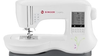 Singer C440 Legacy™  Sewing Machine. Operate the machine easily without the foot control,