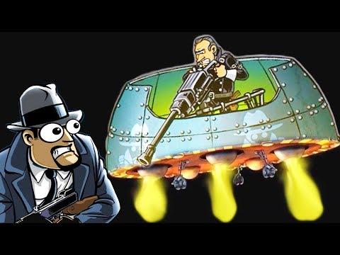 Последняя СХВАТКА с БОССОМ в игре Guns, Gore & Cannoli 2 #8 веселый летсплей игры про зомби |