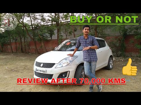 MARUTI SUZUKI SWIFT AFTER 70,000 KMS || NEGATIVE AND POSITIVE || DETAIL REVIEW|| RONNY RAAJ