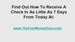 Free Government Grant Money - How To Get A Free Government Grant Right Now...